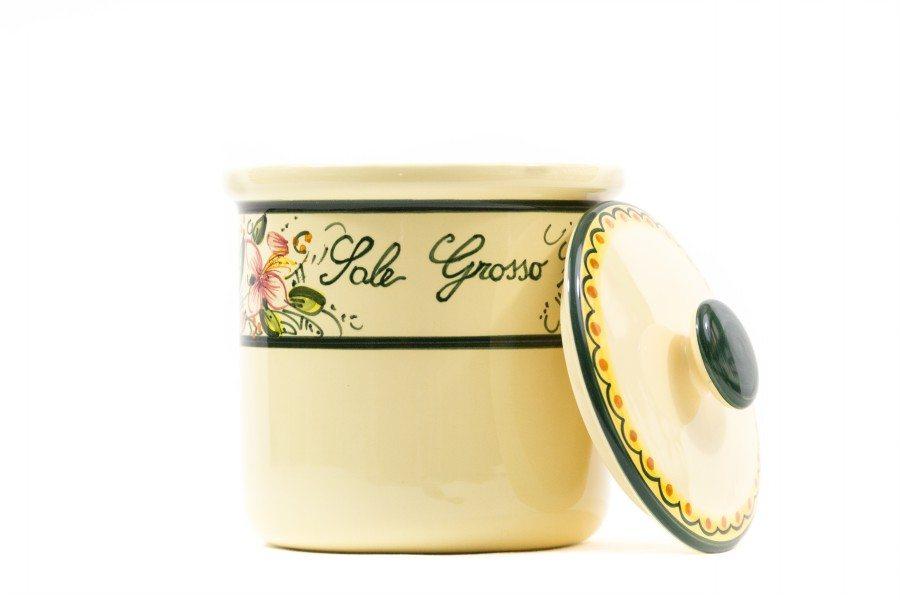 Barattolo in ceramica per sale grosso orchidea liberati - Bagno con sale grosso ...