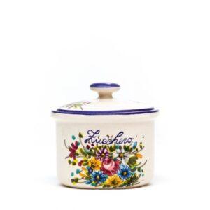 Barattolo in ceramica per zucchero