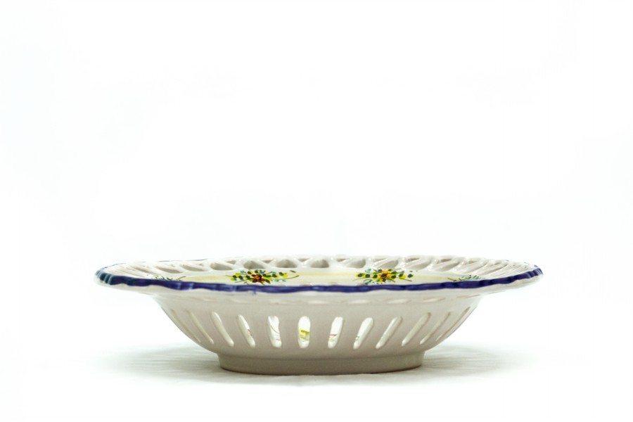 Ceramic centerpiece with fretwork, Ceramiche Liberati