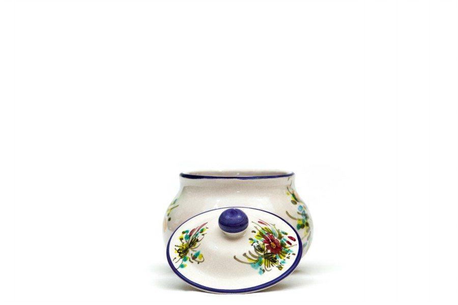 Barattolo in ceramica portapeperoncino, Ceramiche Liberati.