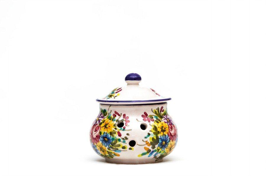 Barattolo in ceramica per peperoncino, Ceramiche Liberati.