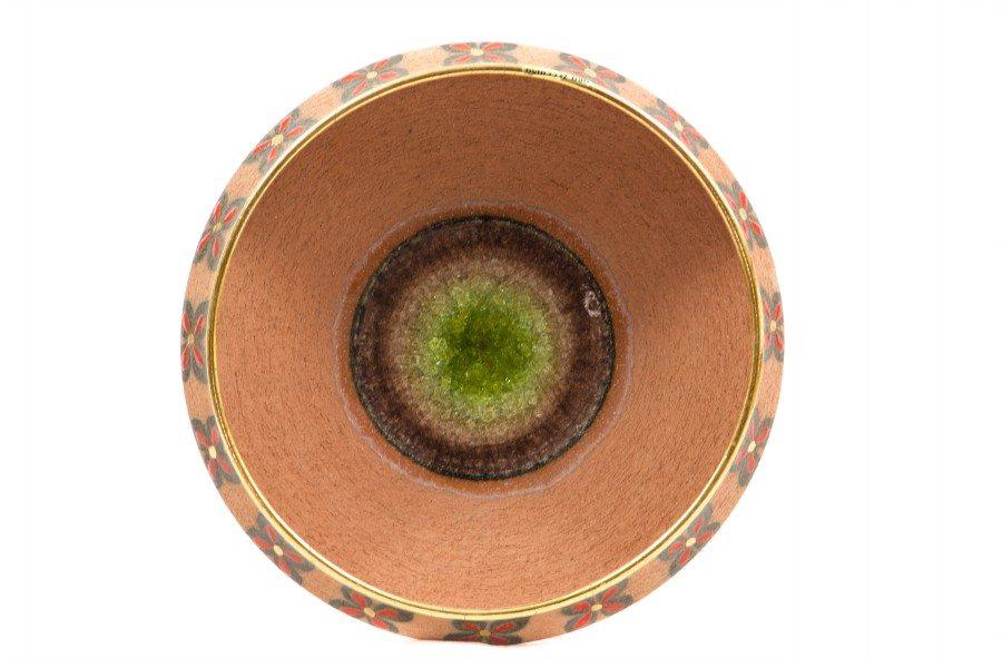 Centrotavola in ceramica refrattaria, realizzato a mano da Ceramiche Liberati