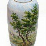 Vaso tradizionale in ceramica dipinto a mano, Ceramiche Liberati