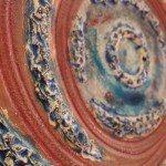 Piatto in ceramica da design, Ceramiche Liberati