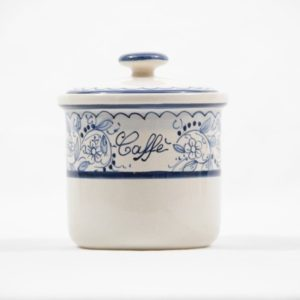 Ceramic coffee jar Teate, Ceramiche Liberati
