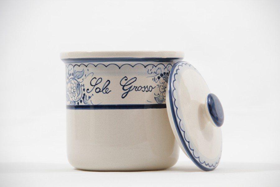 Barattolo in ceramica per sale grosso teate liberati - Bagno con sale grosso ...
