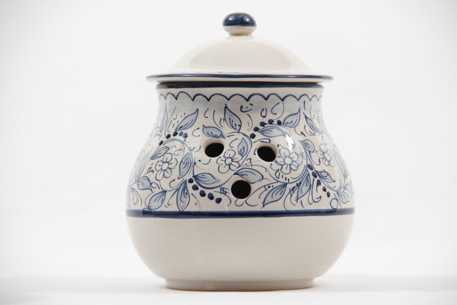 ceramic onion jar teate