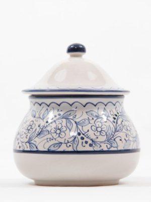 Barattolo in ceramica per aglio, Ceramiche Liberati