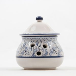 ceramic garlic jar teate