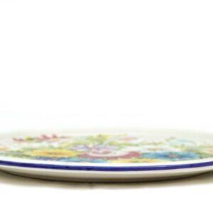 Ceramic dessert plate Fioraccio