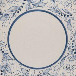 Piatto torta in ceramica, teate, Ceramiche Liberati