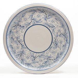 Ceramic dessert plate Teate, Ceramiche Liberati, Italy