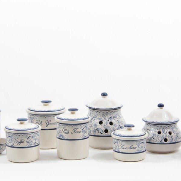 Set barattoli per cucina in ceramica Teate - Liberati