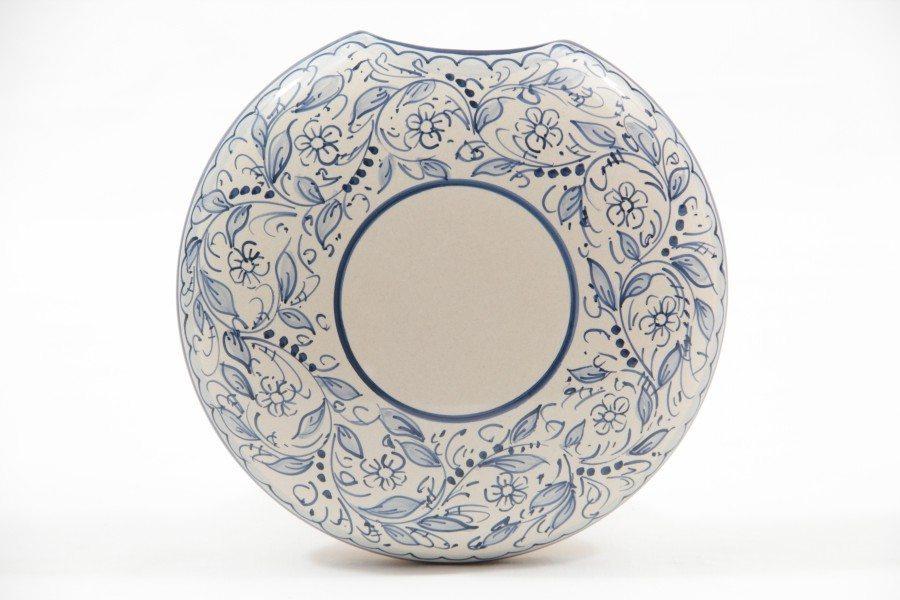 Umidificatore in ceramica, decoro Teate, Ceramiche Liberati