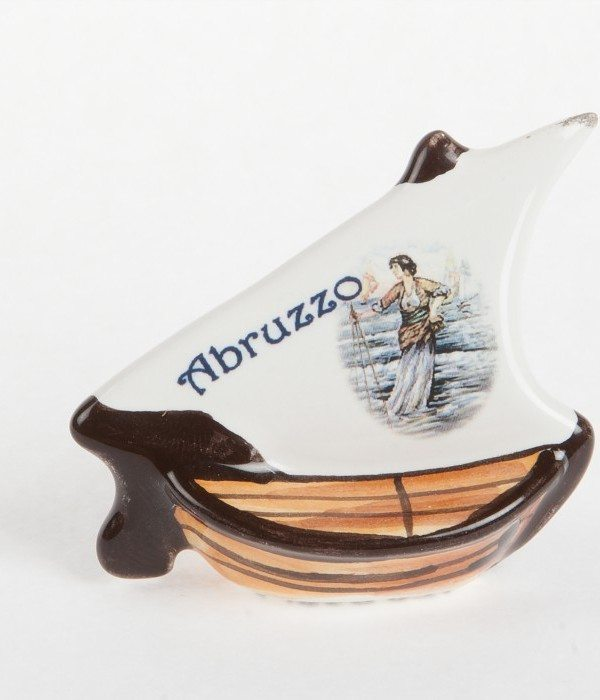 Barchetta in ceramica, Barchetta Abruzzo, Ceramiche Liberati, Italia