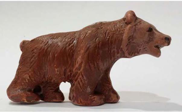magnete da frigo orsetto d'Abruzzo , Ceramiche Liberati