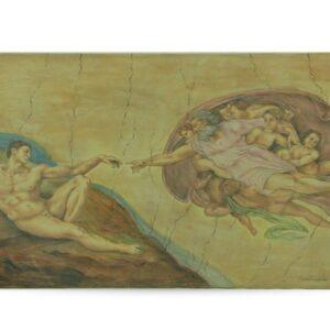 Mattonella in ceramica, Creazione di Adamo, Ceramiche Liberati