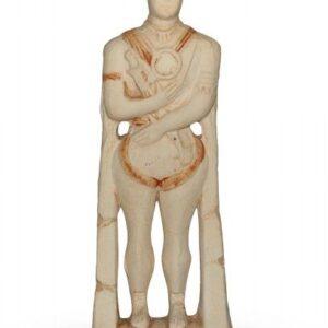 Scultura in ceramica pattinata, Guerriero di Capestrano, Ceramiche Liberati