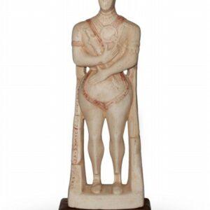 Guerriero di Capestrano in ceramica