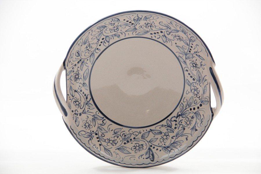 Centrotavola in ceramica con due manici teate liberati for Centrotavola in inglese