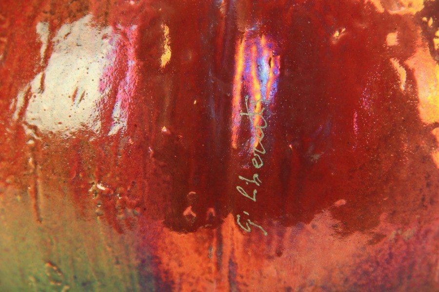 Scultura Zucca in ceramica Musquee de Provence, Ceramiche Liberati