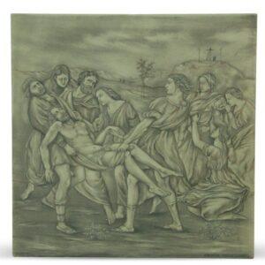 Mattonella in ceramica Deposizione Borghese di Raffaello, Ceramiche Liberati