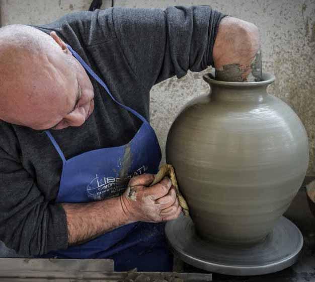 Ceramiche artigianali di Giuseppe Liberati