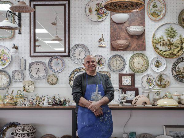 Laboratorio di ceramica in Abruzzo Ceramiche Liberati