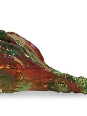 Zucca ornamentale in ceramica artistica di design, Ceramiche Liberati