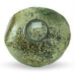Piatto da centrotavola in ceramica raku, serie H, Ceramiche Liberati