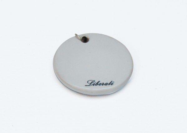 Ciondolo Presentosa abruzzese foto retro, Ceramiche Liberati