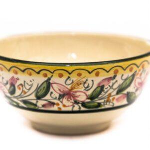 Ciotolina coppetta da aperitivo in ceramica artigianale, Ceramiche Liberati