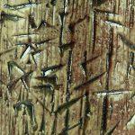 Vaso in ceramica tecnica raku martellato, Ceramiche Liberati