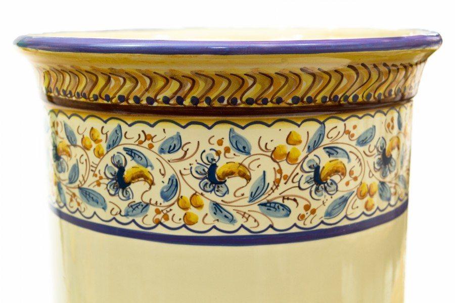 Acquista online portaombrelli in ceramica oriente liberati - Portaombrelli in ceramica bianca ...