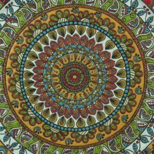Piatto da muro in ceramica cuerda seca, Ceramiche Liberati