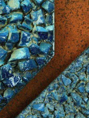 """Pannello in ceramica moderna """"Vele in Libertà"""" di Giuseppe Liberati, Ceramiche Liberati"""