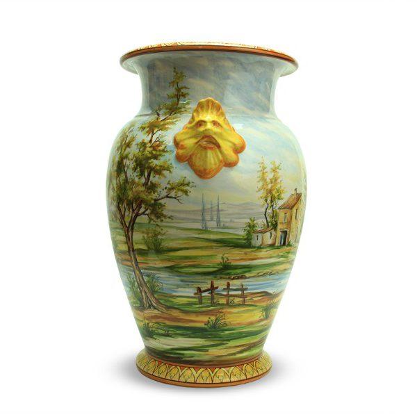 59cit_vaso-grande-in-ceramica-artigianale-paesaggio-con-mascheroni_ceramiche-liberati