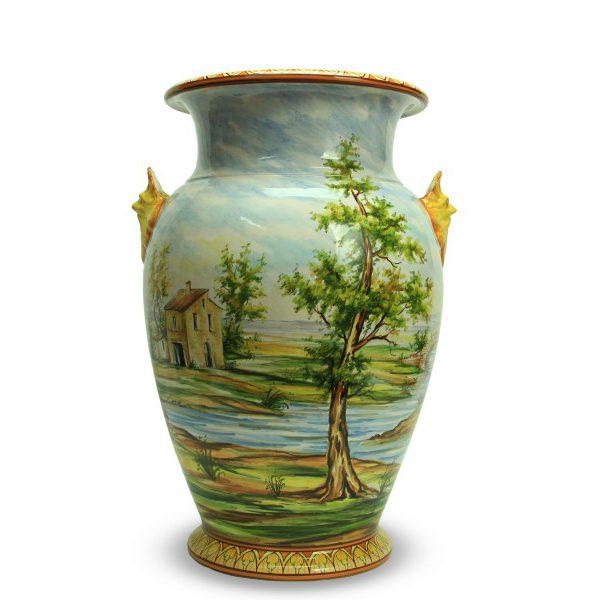 59cit_vaso-in-ceramica-artigianale-paesaggio-con-mascheroni_ceramiche-liberati