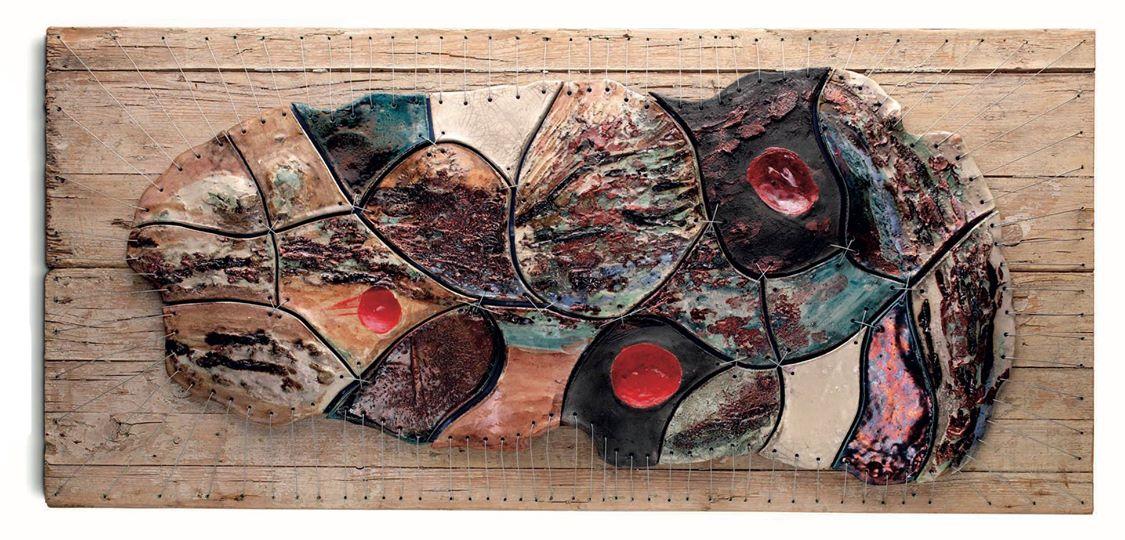 """Ceramica contemporanea """"L'Essenza materica"""" di Giuseppe Liberati"""