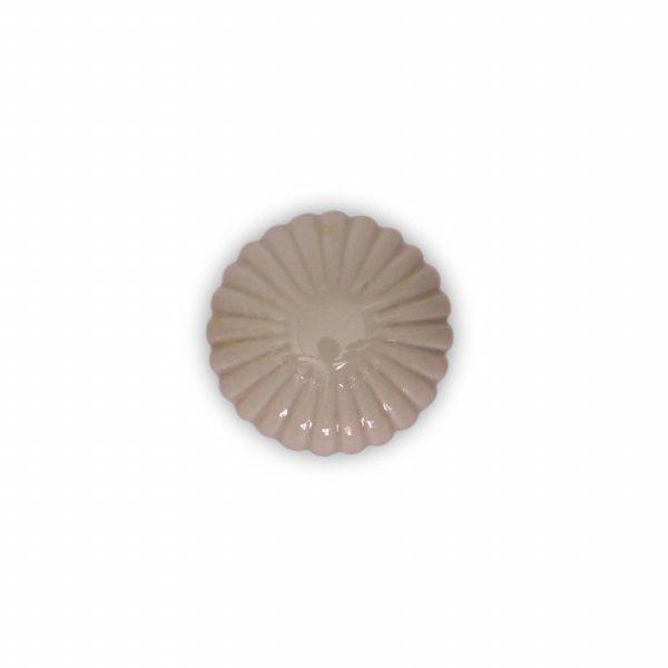 06PAS24_Pomello in ceramica maiolica modello Astra azzurrato base in cromo_Ceramiche Liberati