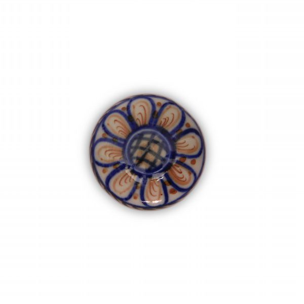 22PDS24_Pomello in porcellana Made in Italy decoro Firenze_Ceramiche Liberati