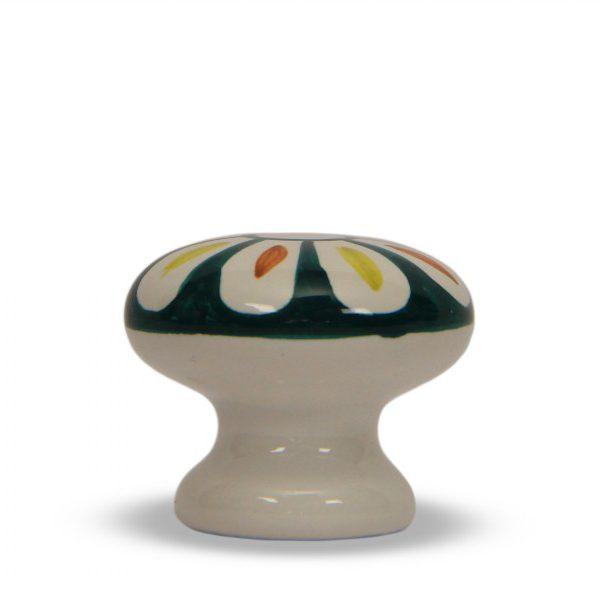 63GMD24_Pomello in ceramica Calendula dipinto