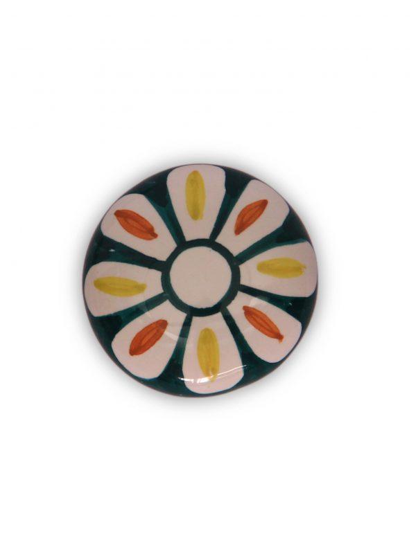 63GMD24_Pomello in ceramica Calendula dipinto top