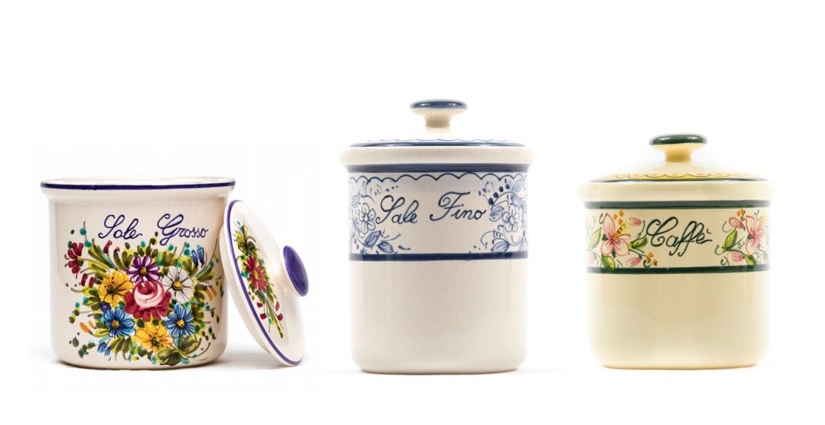Barattoli in ceramica artigianale: modelli, decori e caratteristiche ...