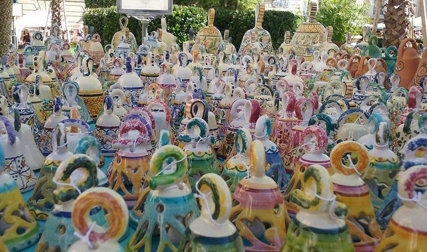 Campanelle in ceramica artigianale di Ceramiche Liberati