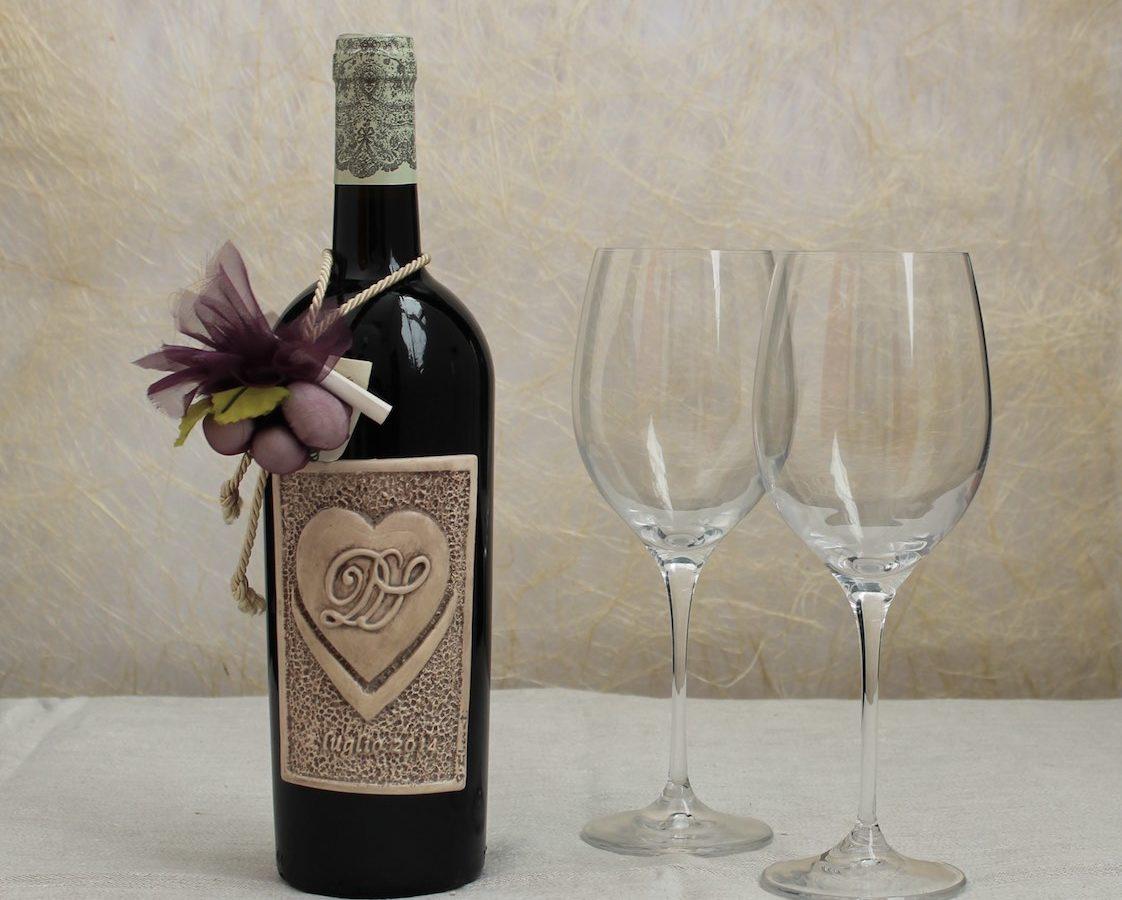 Bottiglie Bomboniere Matrimonio Prezzi.Etichette In Ceramica Come Rendere Unica Una Bottiglia Di Vino
