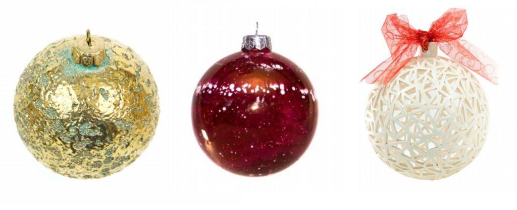 Pallina di Natale personalizzata in ceramica artigianale di Ceramiche Liberati