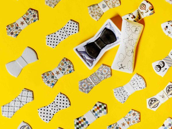 Papillon ceramica online firmati ArtWear Liberati