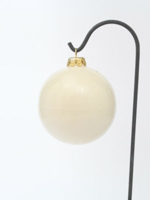 Christmas ball with lantern, hand-decorated, Ceramiche Liberati