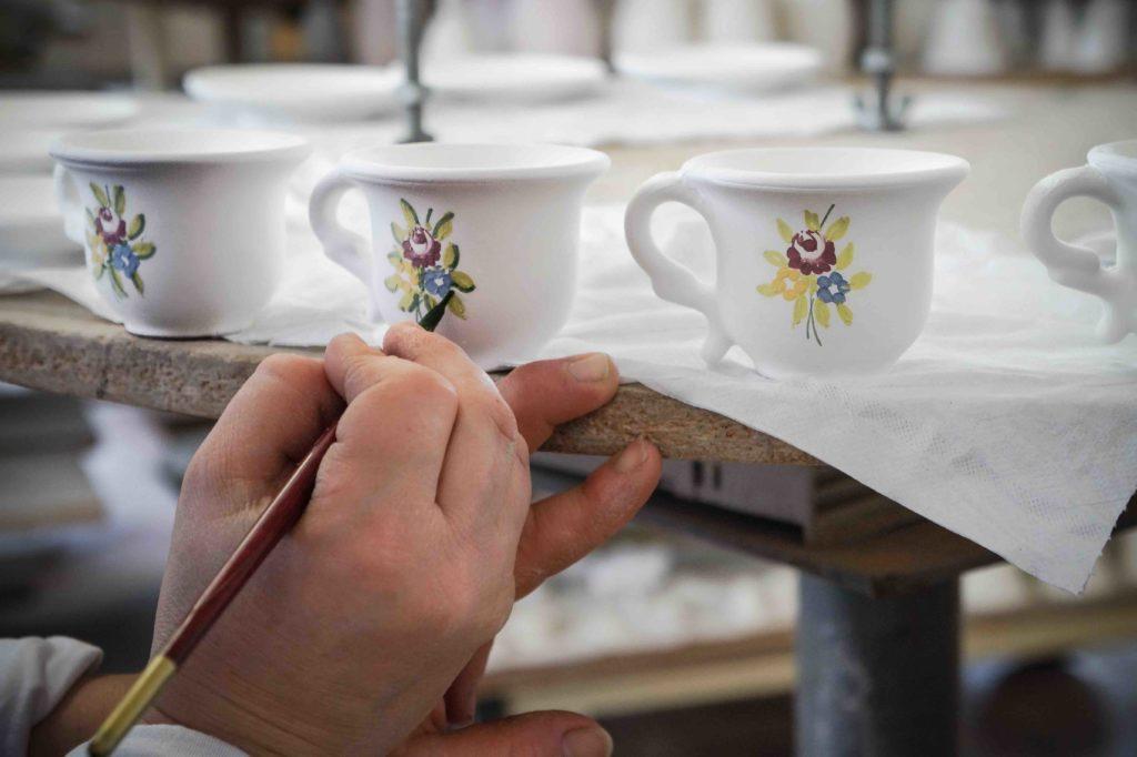 Slow art Decorazione della ceramica_Ceramiche Liberati
